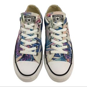 Converse Allstar Tropical Print Sneakers Size 7